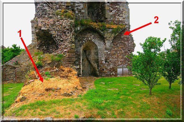 Diaporama château de Regnéville sur Mer