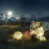 """Exposition """"To the moon and back"""" d'Erik Johansson - Passage Sainte Croix"""