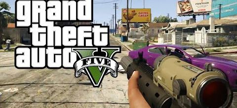 GTA V en mode first person view