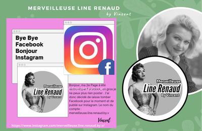 INFO BLOG : De Facebook à Instagram
