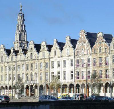 Arras : WI-FI gratuit sur la Grand' Place.