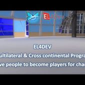 Change the world EL4DEV Become player Project future France Morocco Mediterranean Africa Europ
