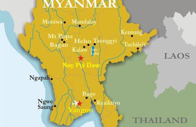 A STOP IN BURMA -- TRAVELS OF THE SAUSAGE