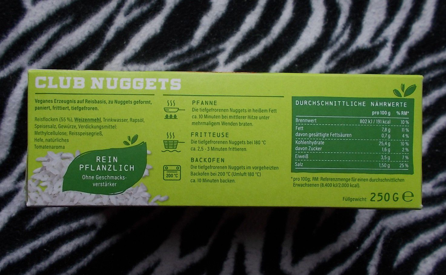 Veggie Club Club Nuggets Vegane Nuggets