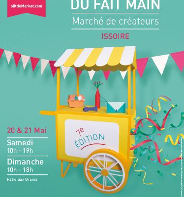 Expo passée - 20-21 mai 2017 - Journées du fait main à Issoire