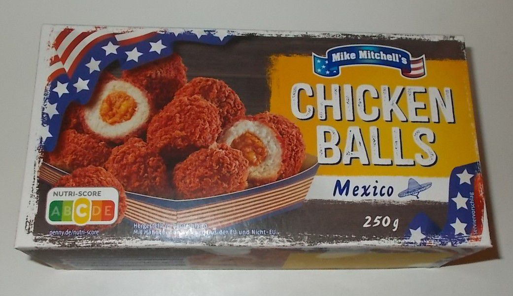 Penny Mike Mitchell's Chicken Balls Mexico