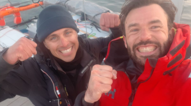Pierre Le Roy et Cédric Faron vainqueurs de la Plastimo Lorient Mini 6.50 !