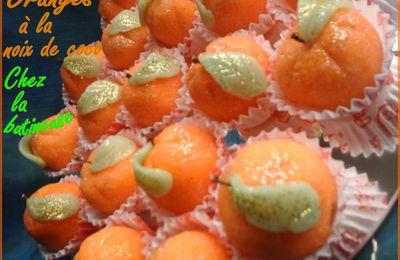 Oranges à la noix de coco