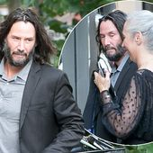 Keanu Reeves has celebratory July 4 dinner with the Matrix 4 cast