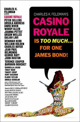 Casino Royale de Val Guest, Kenneth Hughes, John Huston, Joseph McGrath et Robert Parrish