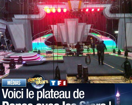 Voici le plateau de Danse avec les Stars !