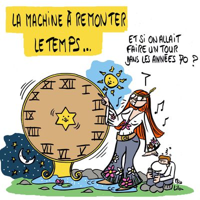 """La machine à remonter la temps"""