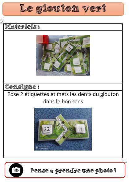exemple de fiches consignes pour ateliers autonomes CP- la classe de pepe