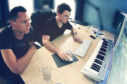 Tiësto & Hardwell, new collaboration - coming soon !