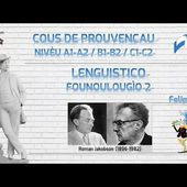 Cours de phonologie provençale #2