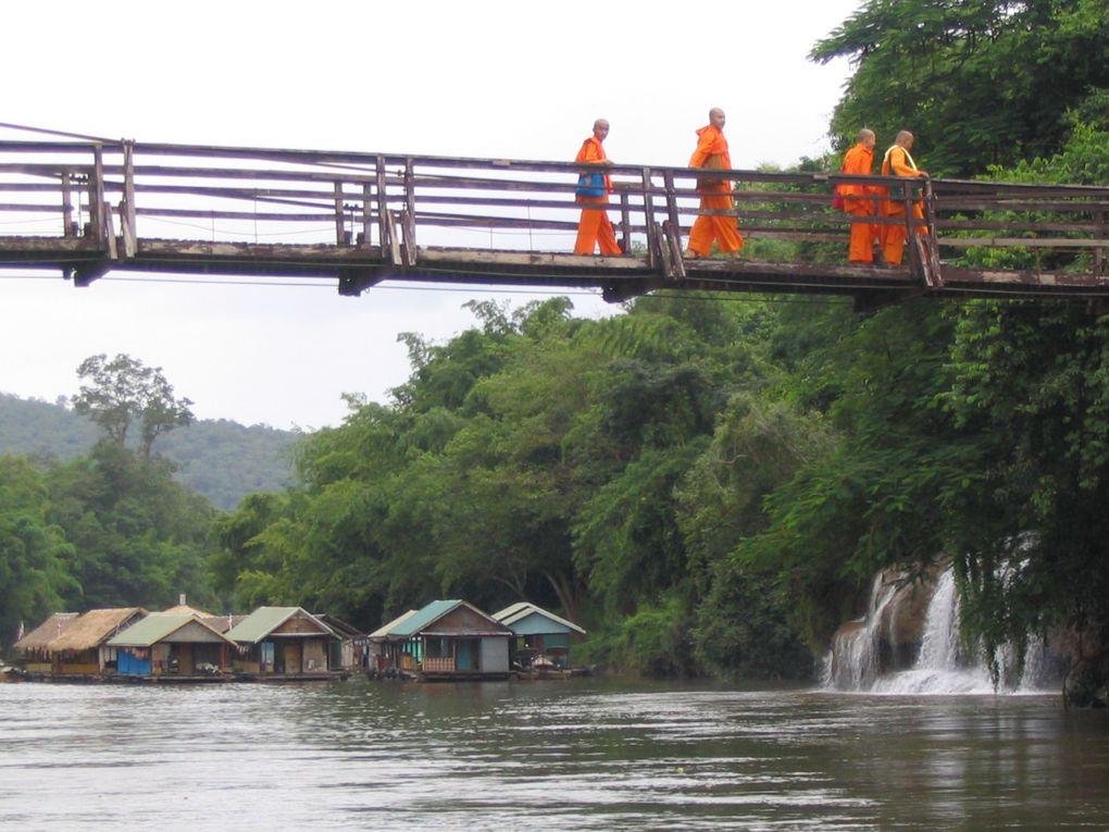 Thailande ~ Etape 5 ~ Kanchanaburi, rivière Kwai et Saiyok National Park