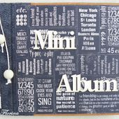 Mini album 100 % vintage - cartes en scrapbooking.com