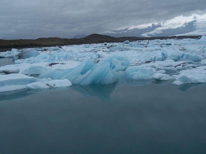Parmis les iceberg de Jökulsarlon