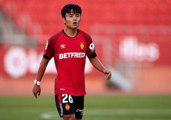 Une photo du footballeur Takefusa Kubo