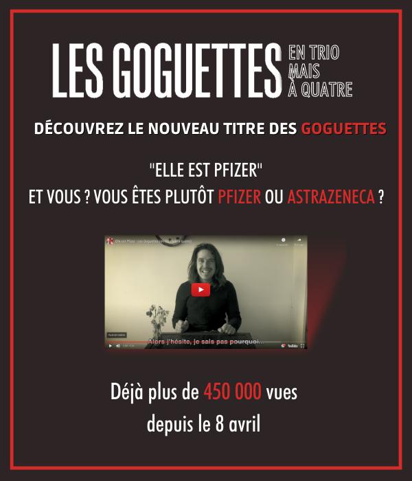 Découvrez le nouveau titre des Goguettes !