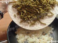 Sauté de porc aux nouilles chinoises et haricots verts