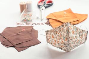 Couture : Tutos masque de protection en tissu