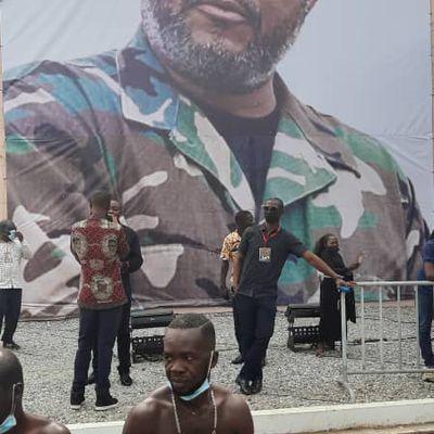 GHANA : NOTRE ADIEU EN IMAGES AU PRÉSIDENT JERRY RAWLINGS LE JOUR AVANT SON ENTERREMENT