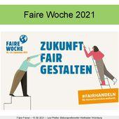 Präsentation des Online-Vortrags bei der Fairen Woche in Veitshöchheim über Bestrebungen von Fairtrade, existenzsichernde Löhne zu ermöglichen - Veitshöchheim News