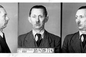 Photos du fichier anthropométrique le Gestapo Vienne