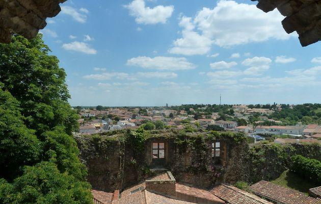 Vue depuis le Château de Talmont Saint Hilaire