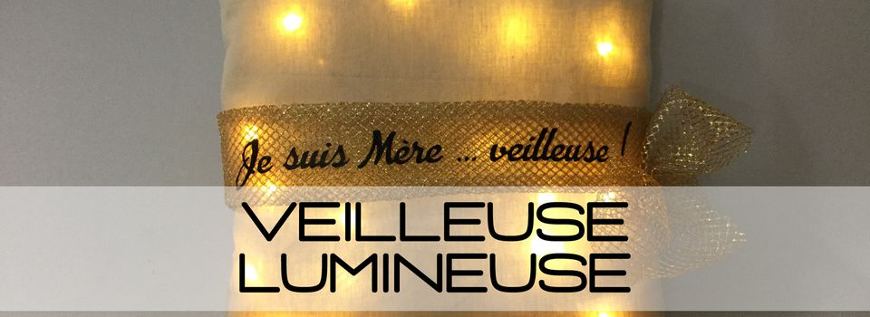 Tuto Coussin Veilleuse LED