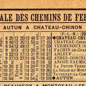 Ligne d'Autun à Chateau Chinon