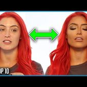 TOP 10 HOTTEST WWE WOMEN WRESTLERS WITHOUT MAKEUP