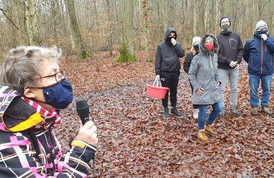 13 Famillien feierten mit der Kolpingsfamilie Veitshöchheim eine etwas andere WALDWEIHNACHT