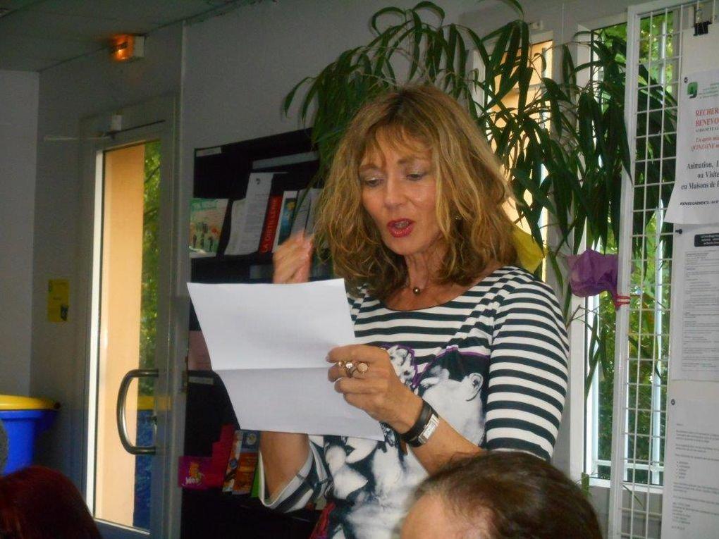 Assemblée générale 2013 -les contes de nos moulins- la fève littéraire 2014 et le repas des poètes... Allais-y , Mesdames !