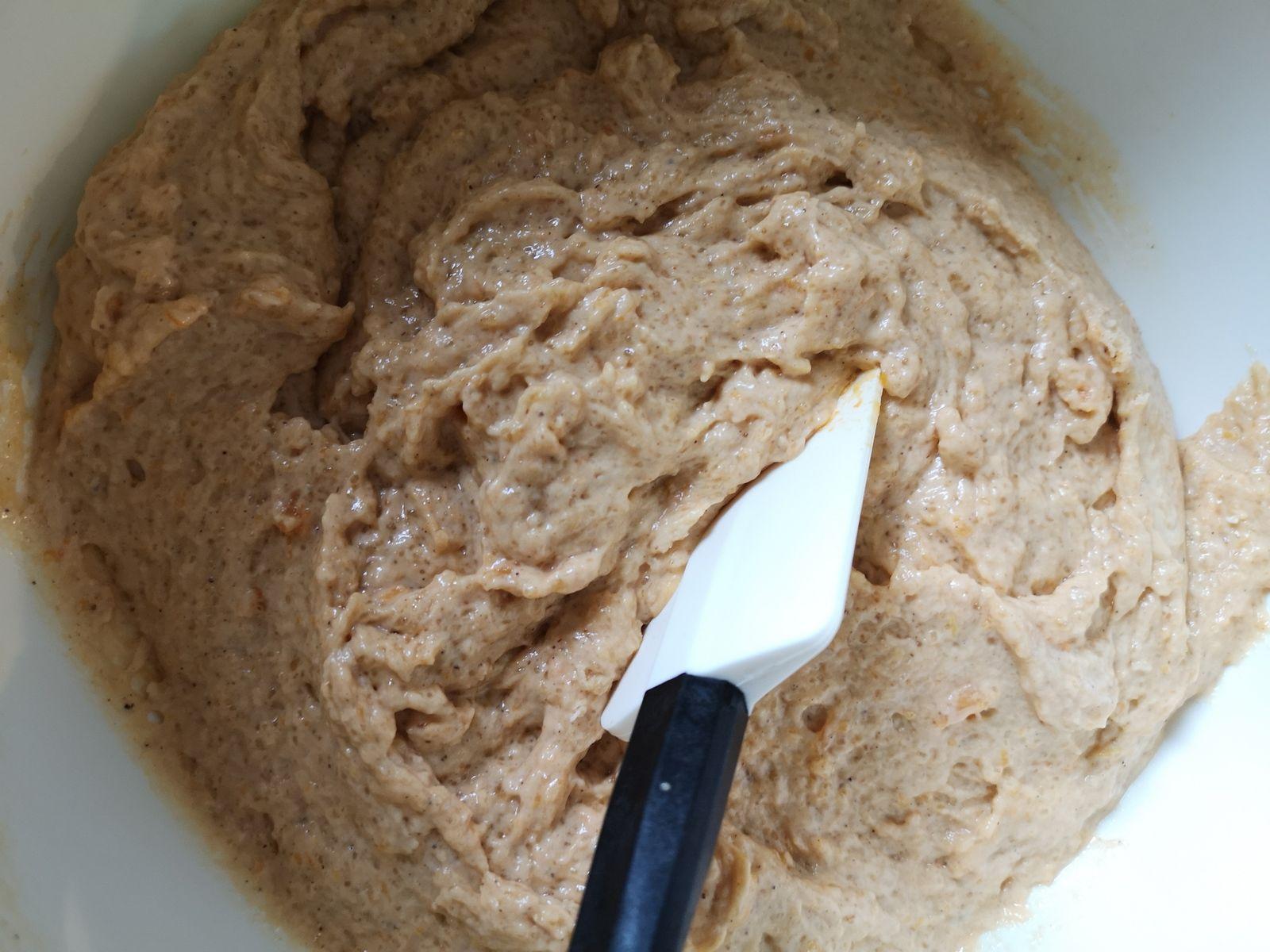 Gâteau d'automne au butternut, cannelle et noix