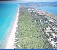 Le spiagge del Gargano :Isola di Varano