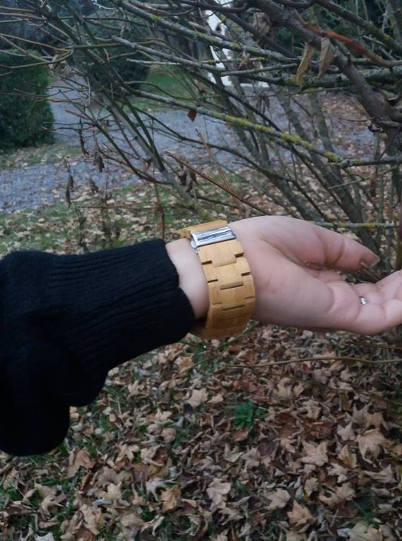Me sentir proche de la nature avec ma montre Bobo Bird !