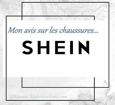 Mon avis sur les chaussures SheIn.