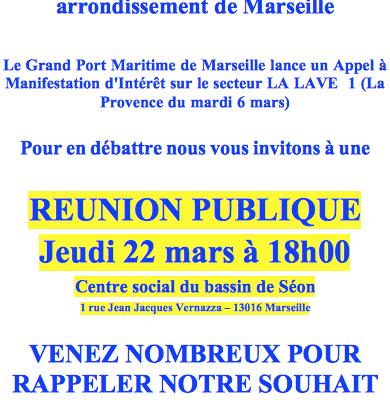 Accès à la Mer - Réunion Publique - Fédération des CIQ du 16éme Arrt