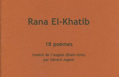 18 poèmes de Rana El-Khatib en pdf