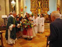 Pendant la messe (cliquer sur l'image pour l'agrandir et sur les bords pour faire défiler)