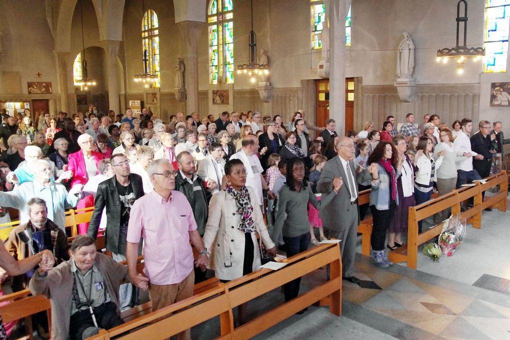 Effervescence ce 28 septembre à St Vincent de Paul