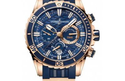 Ulysse Nardin Diver Chronograph Manufacture Watch Replica 1502-151-3/93