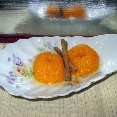 clémentines cuites aux épices