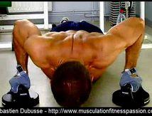 Les pompes avec les poignées rotatives, Sébastien Dubusse, blog musculationfitnesspassion