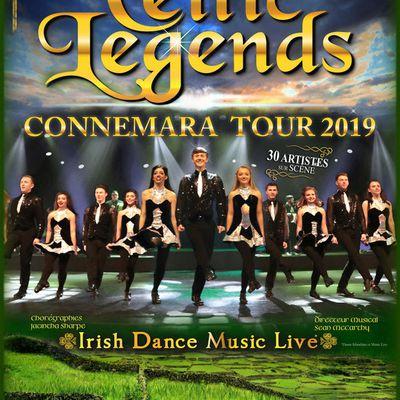 Celtic Legends à l'Olympia du 15 au 17/03/19 // Connemara Tour 2019 / ACTUALITE MUSICALE
