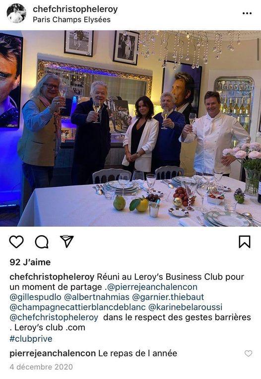 """IMPORTANTES MAJ #FRANCE : """"J'ai dîné cette semaine dans 2 ou 3 restaurants qui sont justement des #restaurants soi-disant clandestins avec un certain nombre de #ministres."""""""