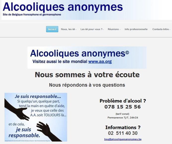 NOUVEAU SITE WEB AA BELGE francophone !
