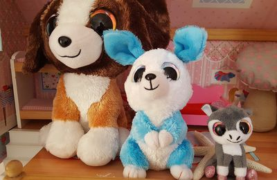 Peluches Lumo Stars trop chou + concours